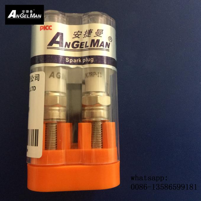Single Electrode Spark Plugs High Performance Iridium NGK DKR7TIX With Life Time Of 70000kms
