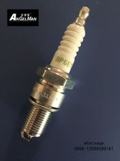 China Strong Resistance Automobile Spark Plug  BP6EY 7727 With White Screw V - Cut supplier
