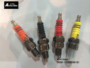 China Black Nickel Motorcycle Spark Plugs A7TC / C7HSA / U4AC / RZ7HC For YAMAHA HONDA distributor
